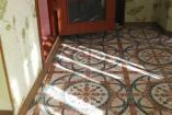 Трехкомнатный номер выполненный в сиреневых тонах, на 3-м этаже