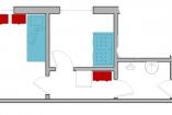 15 (3-местн станд двухкомнатный)   Гостевой дом Ливадия