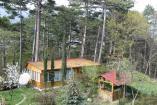 4-х местный двухкомнатный деревянный домик-шале с баней