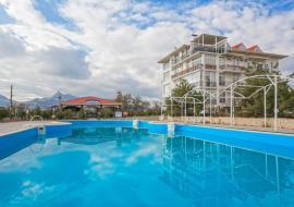 140м.,.3 спальни, 6 человек - Крым Коктебель дом  с бассейном  рядом с морем