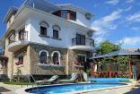 дом с бассейном в Алуште