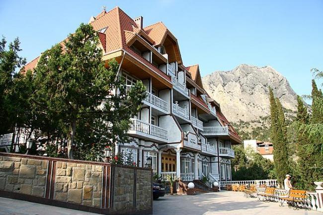 Крым гостиница Новый свет